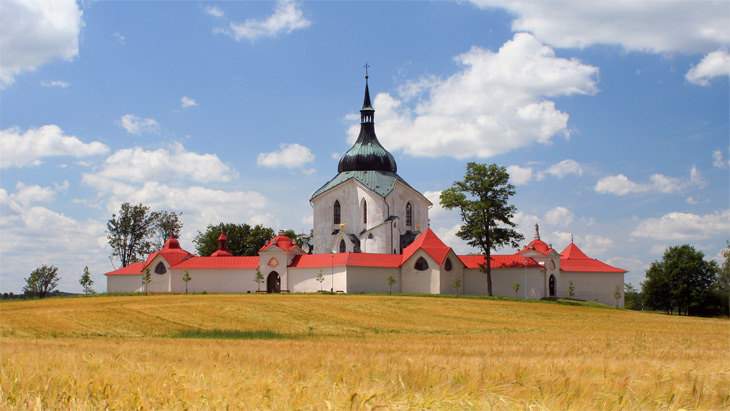 The Pilgrimage Church of St John of Nepomuk at Zelena Hora